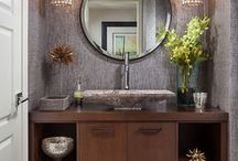 House by room ideas (powder room)