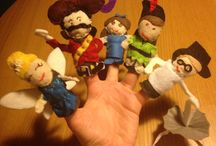 Peter Pan Quiet Book / Fingerpuppets