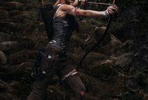 Cosplay Lena-lara Lara croft Tomb Raider