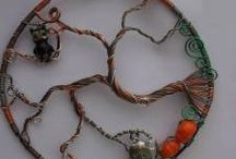 MY Wire work creations / In this folder you will find all the wire work I have created.   If you would like something made you can find me on Facebook https://www.facebook.com/Theshinyzone  Or check out my shop https://www.consciouscrafties.com/Crafties/the-shiny-zone/