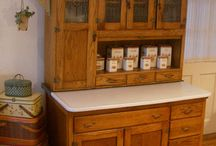 Vintage Hoosier and Cabinets / I love these!!! / by Carol Hall Jones