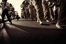 ASADHA DAY / salah satu perayaan agama buddha yang menandakan kesempurnaan dan kelengkapan dalam agama buddha, acara ini di selenggarakan di candi Mendut jawa tengah, Indonesia
