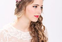 Hair Flowers / Hawaiian Hair Flower Creations for Maleana Cosmetics brides
