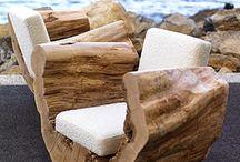Asientos troncos