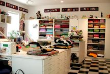 Craft / sewing room.