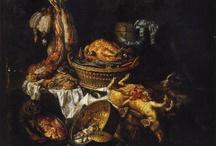 Nicasius Bernaerts - Anvers, 1620 - Paris, 1678 / Grand spécialiste de la peinture animalière, des natures mortes.