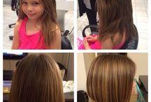 frizerie copii fetita