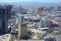 Las Vegas Woestijnstad  / Beelden van de woestijn rond Las Vegas