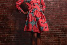 africa inspired / Africa inspired fashion