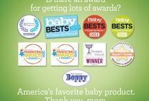 Award-Winning Boppy Pillow! / Boppy Pillow has been named America's Favorite Baby Product. With all of these great awards, you probably don't wonder why. We love Mom and Mom loves us!  http://www.boppy.com/shop/boppy-cottony-cute-pillow-with-slipcover/