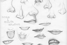 noses 4 drawing
