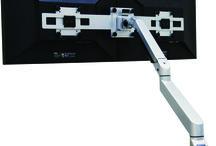 TFT Monitorarmen / Een TFT monitorarm op de werkplek is in de huidige moderne werkomgeving niet meer weg te denken.                                                 Een monitorarm zorgt voor een juiste houding achter uw beeldscherm dmv een optimale hoogte- en diepte instelling.Dit voorkomt rug-, nek- en schouderklachten. Tevens werkt een flexibel instelbare monitorarm preventief en bevordert een efficiëntere werkwijze.