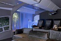 Movie room / Star Wars theme