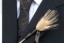 wedding boutonnieres / by Toni Smith