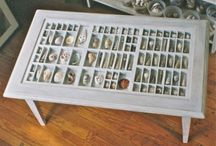 Printer's Drawer Coffee Table - I'm making this! / by Nikki D. May