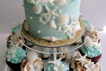 Wedding cakes ideas / Summer beach party