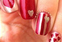 ❤️valentines nails