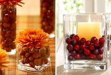 Fall Decor  / by Jill Bukovi-Behunin