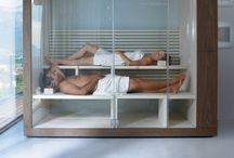 Sauna in slaapkamer
