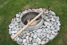 Fire pit  / by Michelle Johnson Hunter Bunker