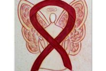 Burgundy Awareness Ribbon Support and Art Gifts / The burgundy ribbon color means support for Brain Aneurysm, Cesarean Sections, Disabled Adults, Factor V Leiden, Headaches & Migraines, Hemangioma and Vascular Malformation, Hereditary Hemochromatosis, Hospice Care, Lymphatic Malformation, Meningitis, Meningococcal Meningitis, Multiple Myeloma, Polio Survivor, Post-Polio Syndrome, Sickle Cell Anemia, Thrombophilia and other Coagulation or Blood Factor Disorders, and William's Syndrome Awareness. Let this burgundy ribbon help bring awareness!