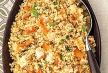 Quinoa / Healthier food / by Beth Ruhl