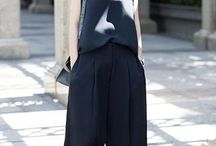 Street Style BLACK Pants