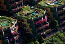 gröna städer