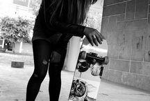 Who likes to skate round?