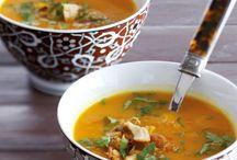 Winterse soepen / Heerlijke rijkgevulde wintersoepen. Precies waar we behoefte aan hebben wanneer het koud en guur is buiten!