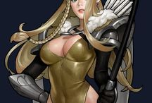 fantasy/ archer/ concept/ art/ game