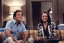 Rhoda & Joe / One of my favorite television couples. Joe was the kind of NY guy you wanted, sleeves rolled up and sexy. So sad when they didn't make it afterall...