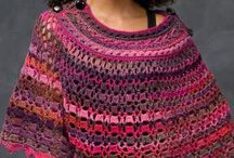 Crochet Patterns - Scarves, Wraps, Ponchos