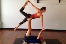 2 people yoga
