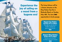 Tall Ship Events LA / All proceeds from our public sailing events help keep our TopSail Youth Program afloat!