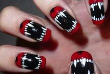 Spooky Nail Art / Spooky, or not so spooky, nail art to celebrate halloween!