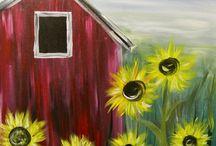 Dandelion farm / Whimsical barn