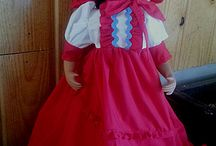 "American Doll Dresses-18"" Dolls / Doll dresses for 18"" American Style Dolls or other 18"" soft bodied dolls, Prairie Doll Costumes with Bonnets"