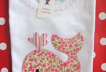Apliques camisetas / by Fabiana Almeida