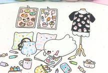 Kirakira doodles