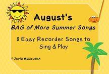Recorder -- Elementary Music Education