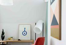 Deco / Interior and exterior modern deco