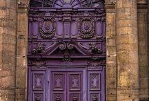 BROWN & purple...