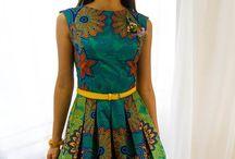 Vlisco Dresses
