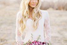 Brudebuketter og kranser