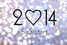 Starting a fresh 2014