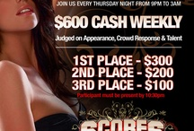 Our Events & Flyers / by Scores Tampa