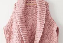 háčkované svetry