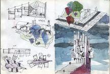 drawings / disegni, riflessioni, progetti, studi
