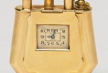 Dunhill Fancy Shape Watch Lighters / Uhrenfeuerzeuge Fancy Shape Dunhill